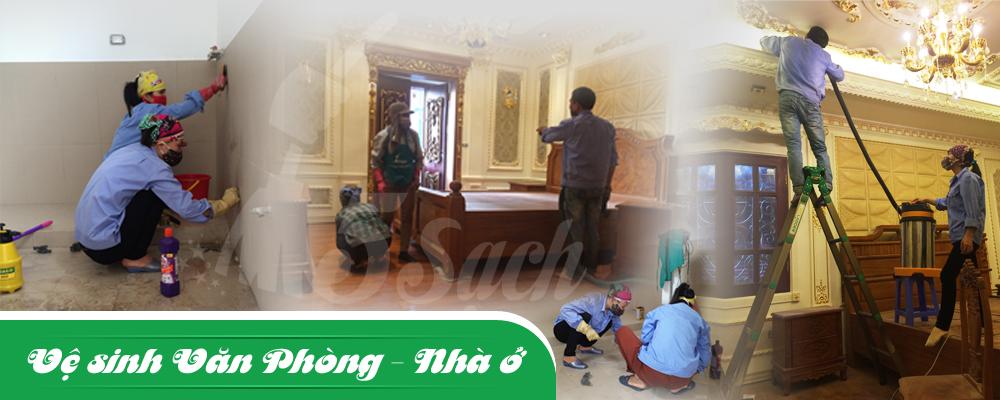 Dịch vụ vệ sinh nhà cửa - Văn phòng